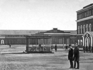 чугунный портик устроенный в память посещения завода императором александром i